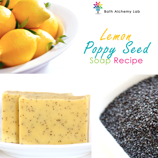 Lemon Poppy Seed Soap Recipe