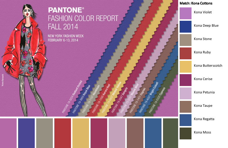 Fall/Winter Color and Scent Trends 2014-2015