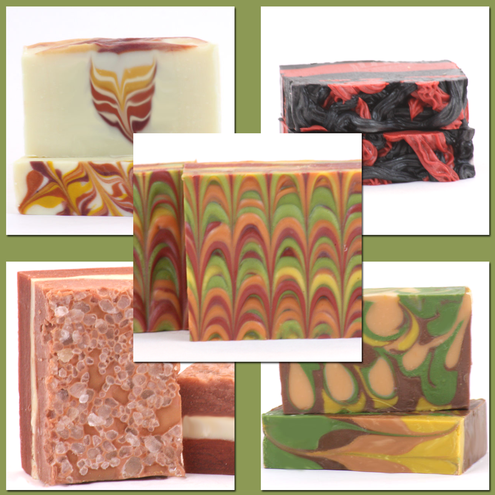 New Online Gourmet Autumn CP Soapmaking Class