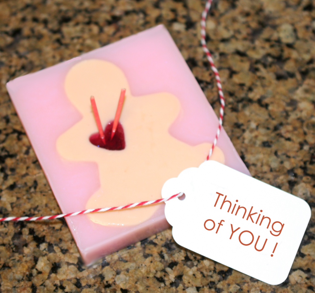 Voodoo Doll Soap for Anti-Valentine's Day