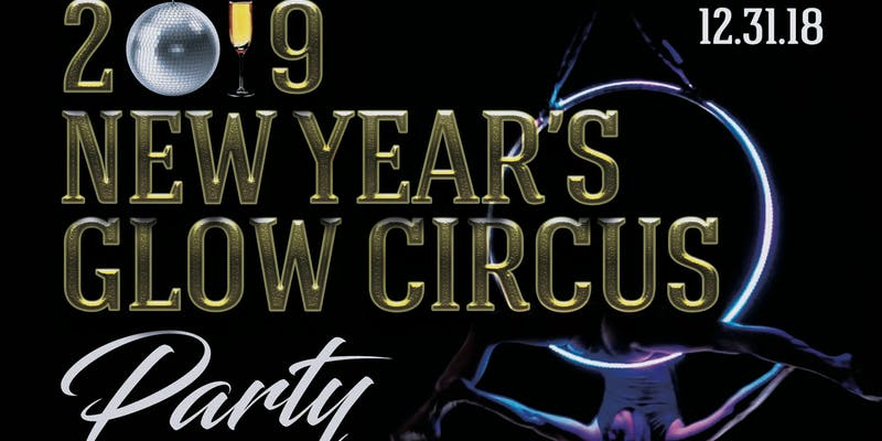 New Year's Eve Glow Circus Party
