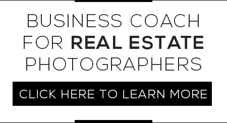 Business coach for real estate photographers
