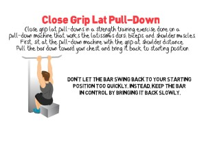 Close Grip Lat Pull-Down