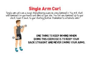 Single Arm Curl