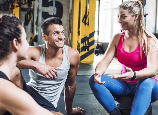 motivated trainer
