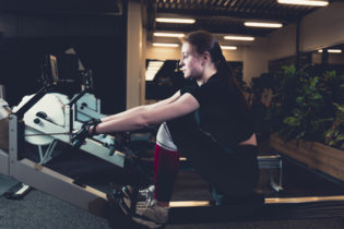 machine rowing