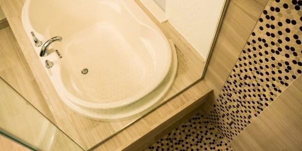 Bathroom remodeling in Northern VA, MD, DC, tile shower, soaking tub