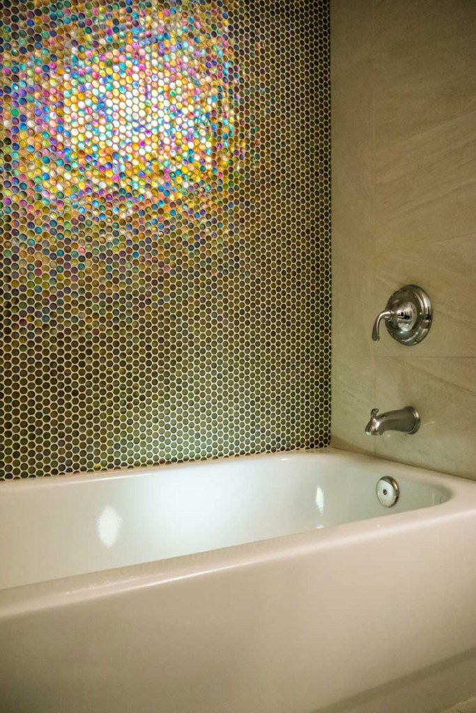 Hall bathroom remodel in Laurel, MD
