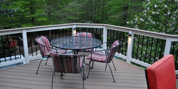Outdoor remodel in Northern VA, MD, DC; landscaping; deck installation;