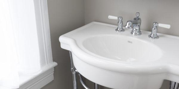 Small bathroom remodel in Northern VA, MD, DC; tile floor