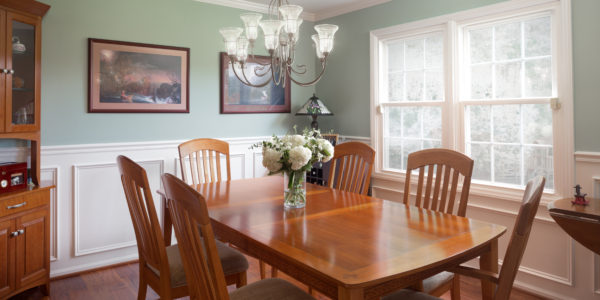 Dining room remodeling in Northern VA, DC, MD