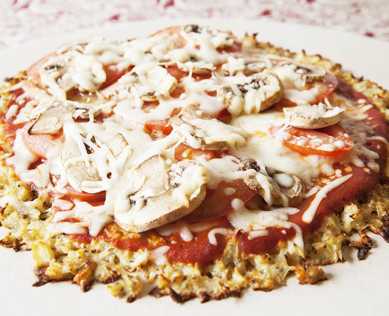 Vegan Cauliflower Pizza