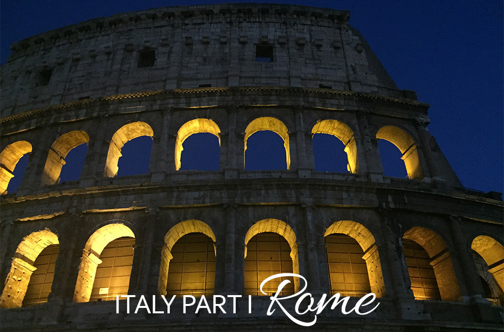 Italy, Part I: 3 Days in Rome