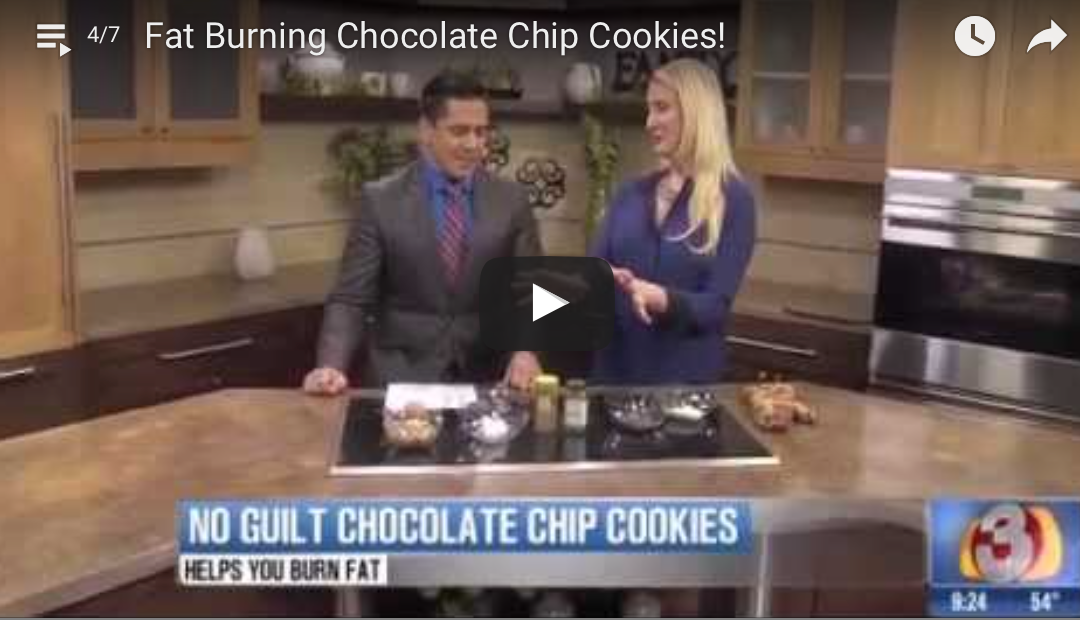 Fat Burning Chocolate Chip Cookies