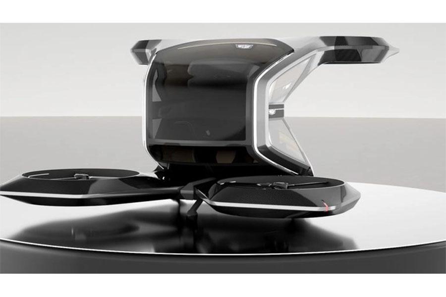 VTOL – The Flying Cadillac Concept Car
