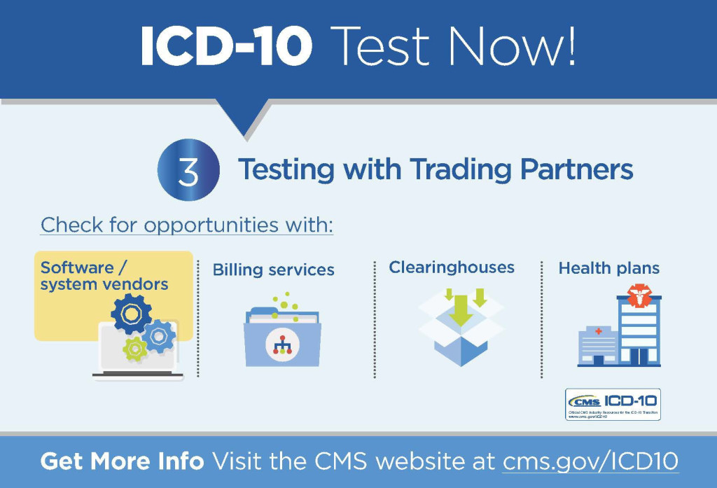 ICD-10 News: Testing with Trading Partners