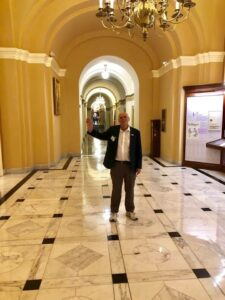 DAV 2019 Mid-Winter Conference: Doing a whirlwind tour of Capitol Hill delivering The Independent Budget books on Policy and Budget Recommendations to the Wisconsin Congressional Offices.