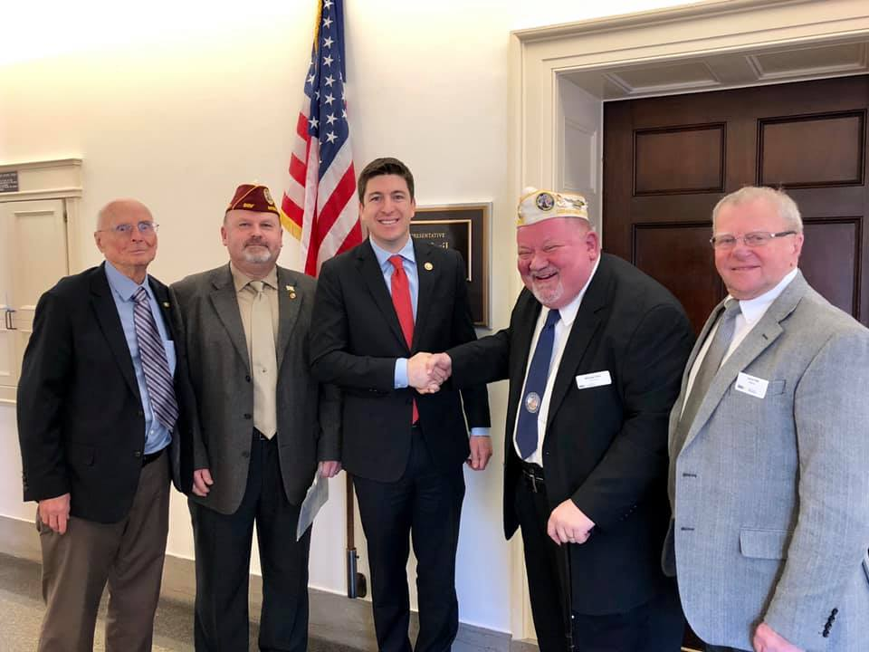 Team DAV-WI on Capitol Hill