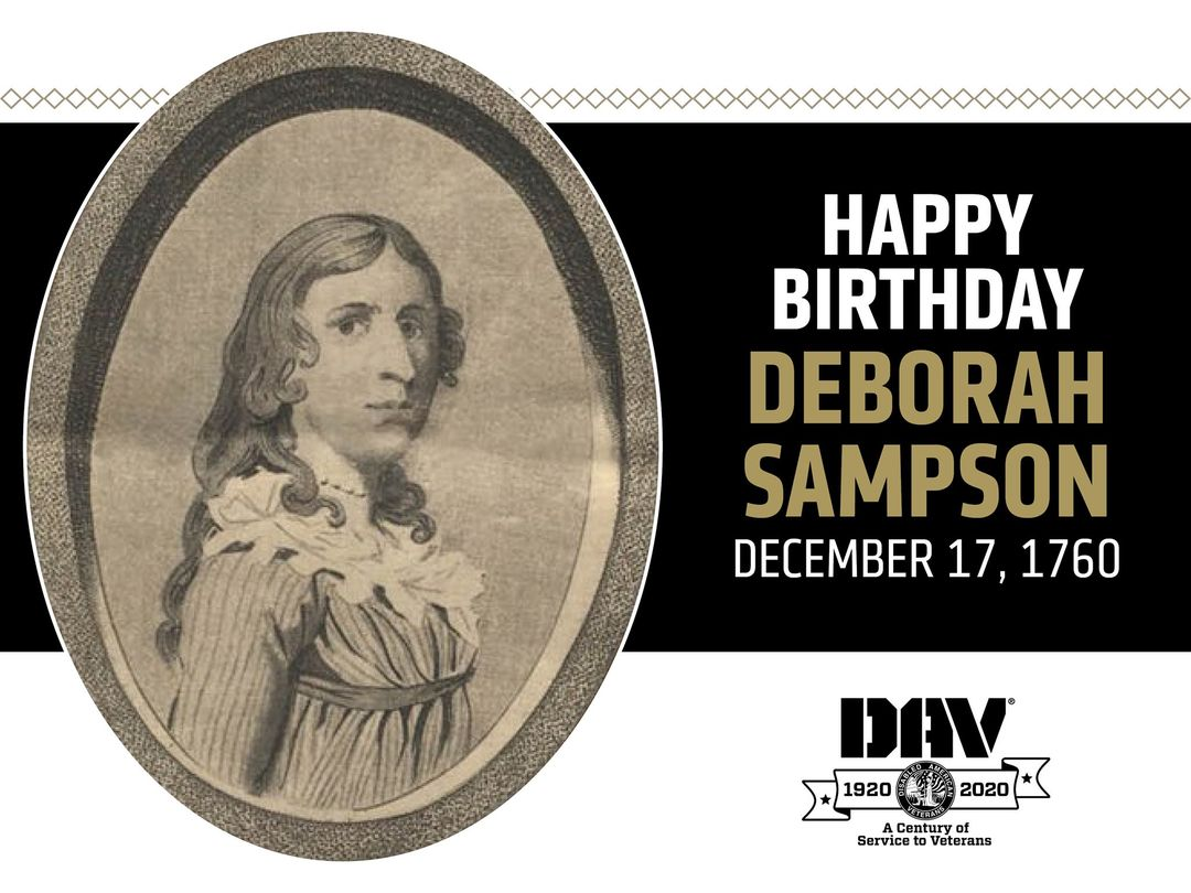 Happy Birthday, Deborah Sampson!