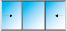 Ez Windows Sliding 3 light