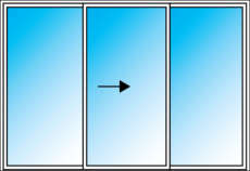 EZ Windows Sliding door
