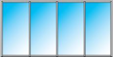 EZ Windows Fixed 4 Panel