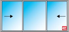Ez Windows Awning Window 3= Lights