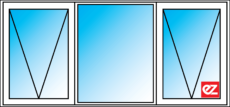 Ez Windows Awning Window 3 = Light