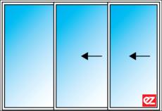 z Windows Stacking Door Reverse