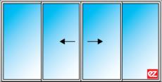 Ez Windows Sliding 4 Panel