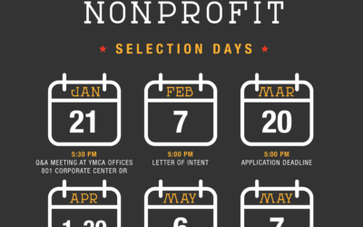 2021 Nonprofit Selection: Now Open