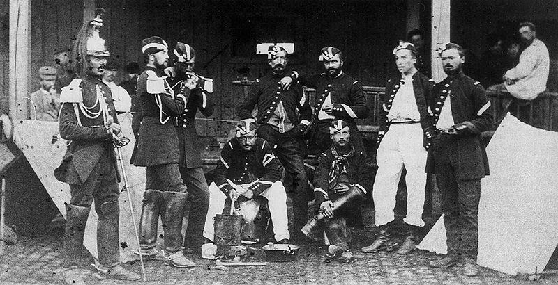 Cuirassiers Metz 1870