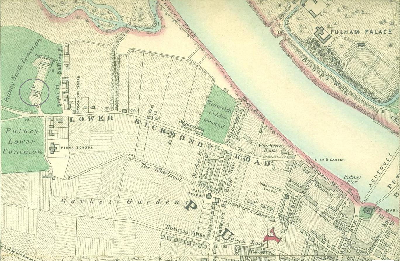 Putney map
