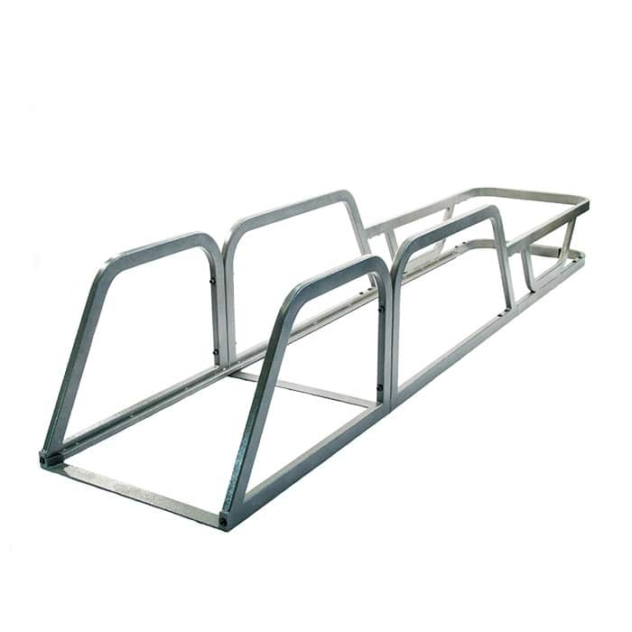 EXpress cart corral for two-tier convenience carts