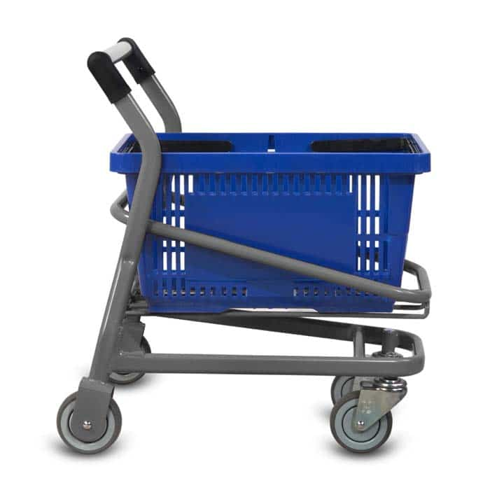 Wire Metal Kiddy Children's EZcart Shopping Cart