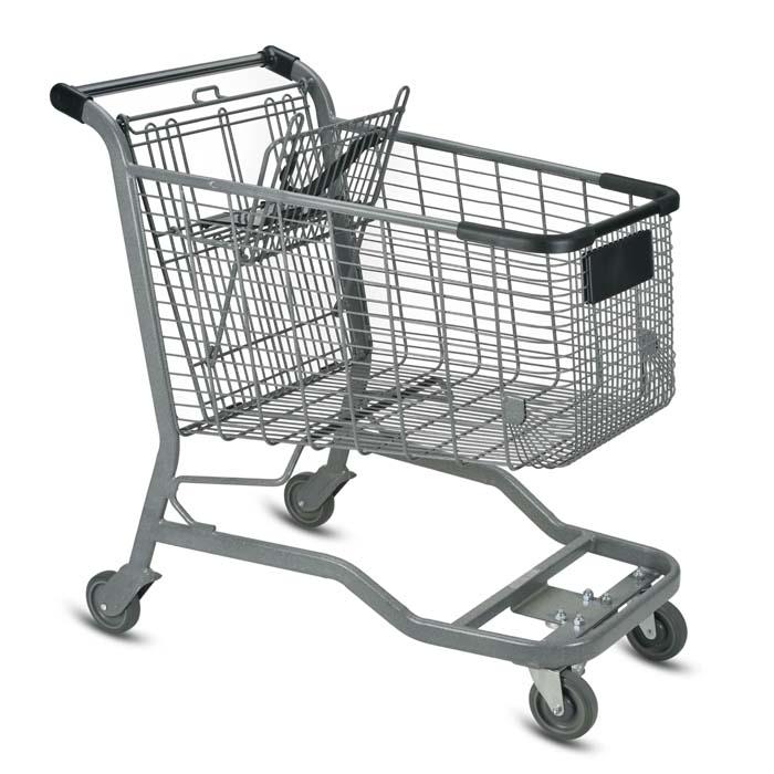 Vertical Transport Shopping Carts
