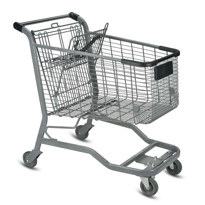 Vertical Transport Shopping Carts