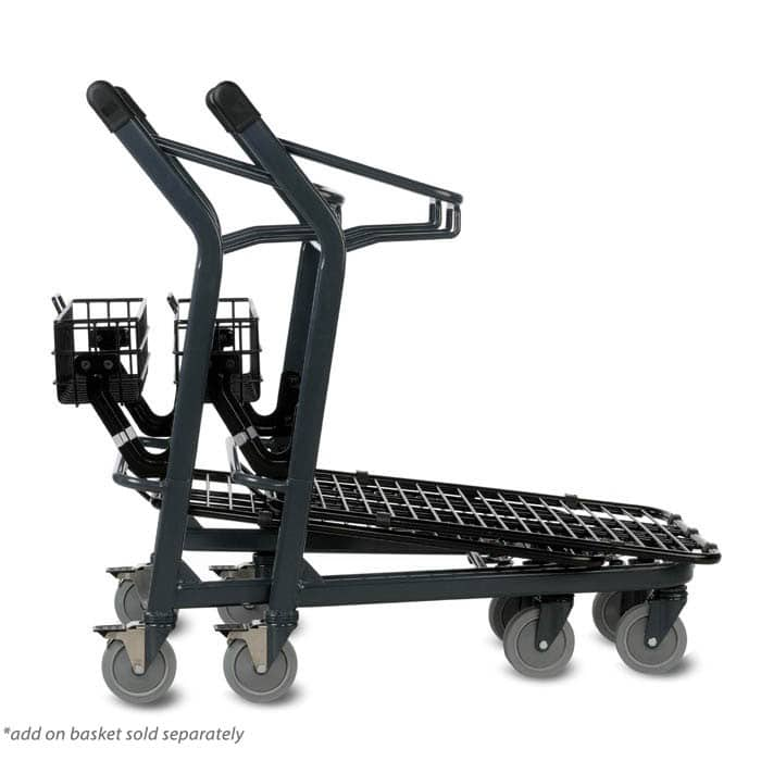 EZtote545 material handling metal shopping cart