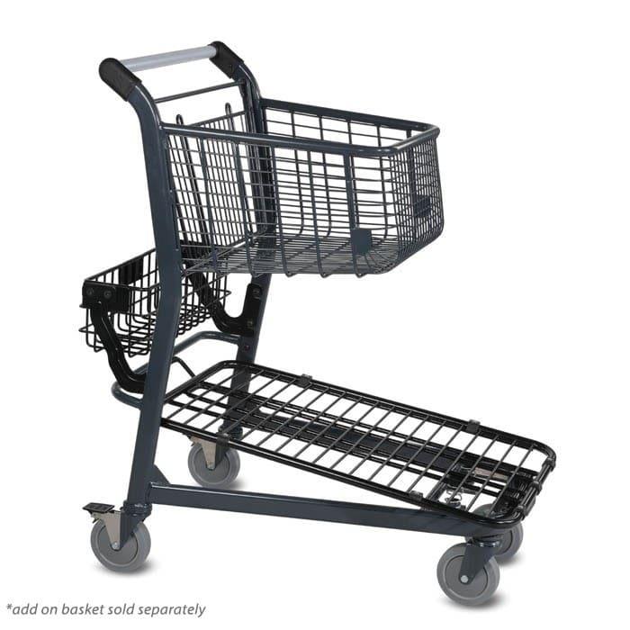 EZtote546 material handling metal shopping cart