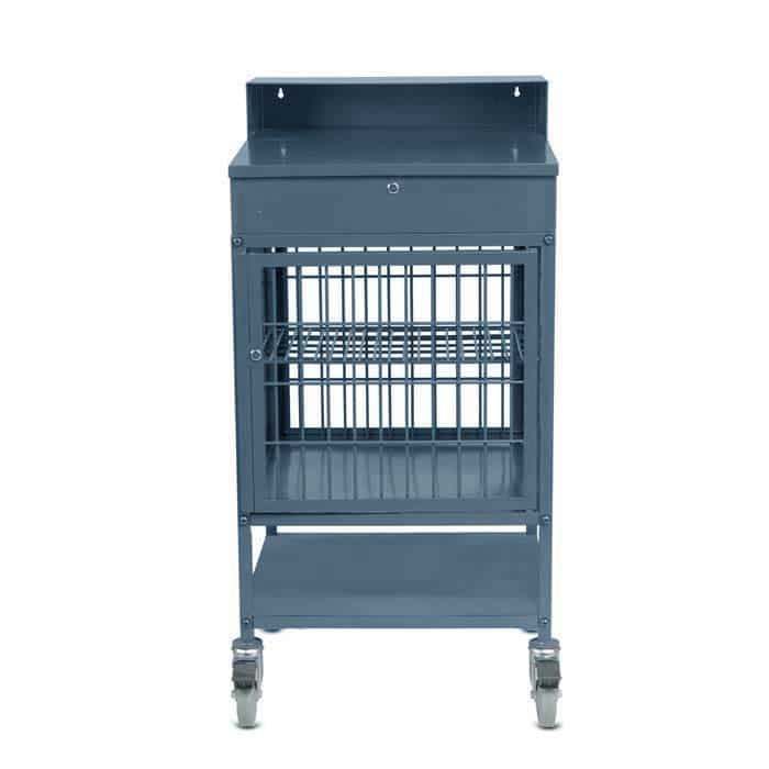 Security Cage for Mobile Work Station Utility Lockable Desk