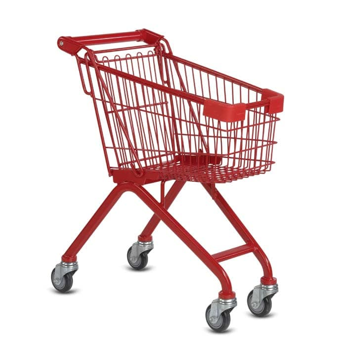 Wire Metal Kiddy Children's Shopping Cart