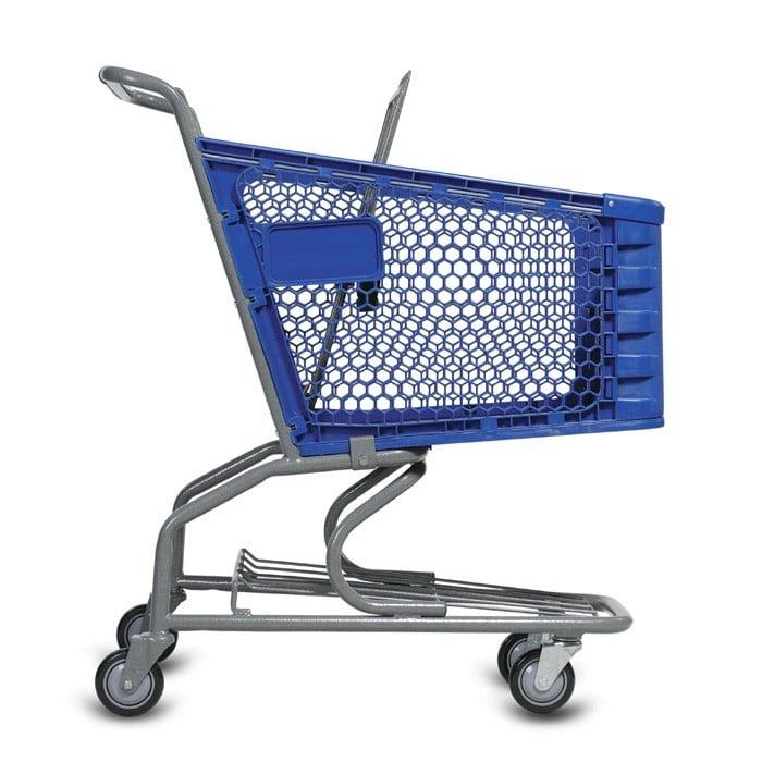 H Series 85 Liter Plastic Shopping Cart