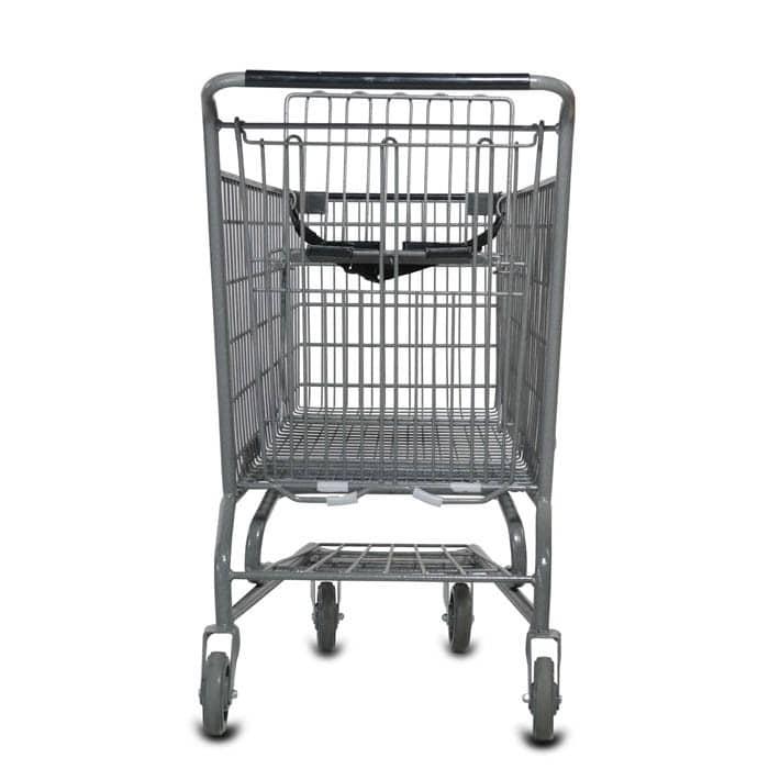 S Series 140 Liter Metal Wire Shopping Cart
