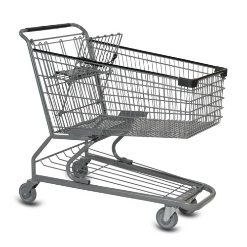 S Series 180 Liter Metal Wire Shopping Cart