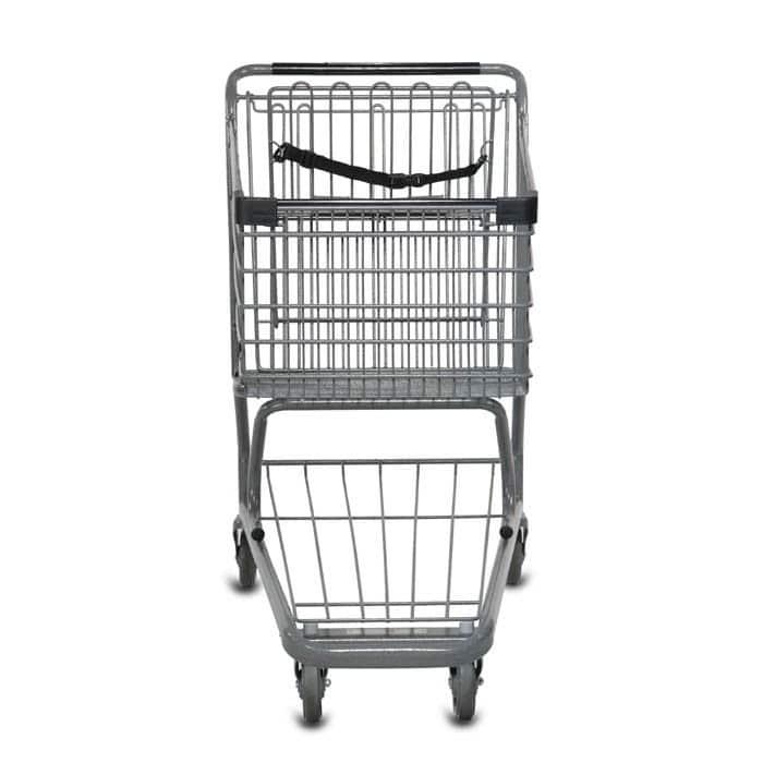 S Series 160 Liter Metal Wire Shopping Cart