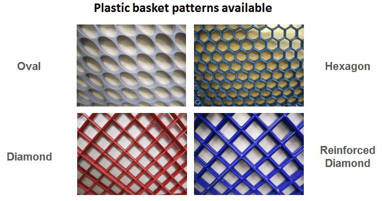 plastic basket patterns