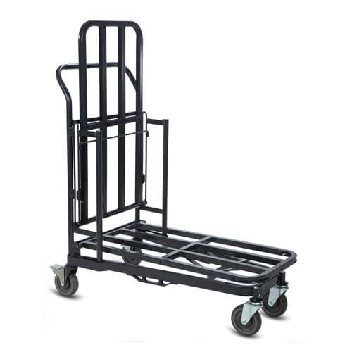Retractable Nesting Stocking Cart Model 32R in dark grey configuration 2