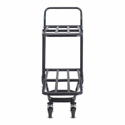 Retractable Nesting Stocking Cart Model 32R in dark grey