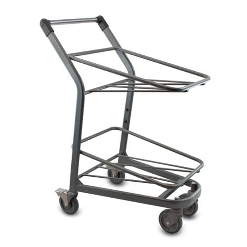 EZtote390 tote stocking, pick, material handling cart