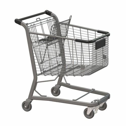 E Series 170L Vertical Transport Shopping Cart